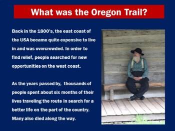 Oregon Trail Activity | Oregon Trail Reading | The Oregon Trail Powerpoint