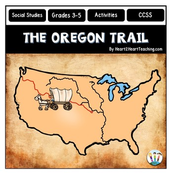 Oregon Trail Map Worksheets & Teaching Resources | TpT