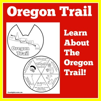 Oregon Trail Craft | Oregon Trail Activity | Westward Expa
