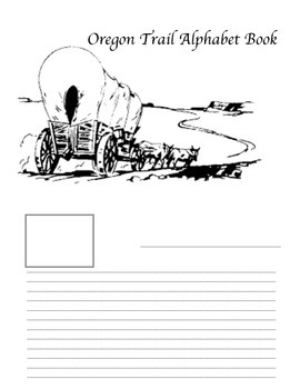 Oregon Trail ABC booklet