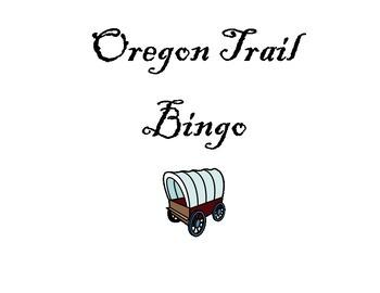 Oregon Trail Bingo