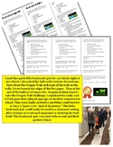 Oregon Trail Bookmark Quiz - Second and Third Grade - Perfect for Western Events
