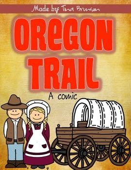 Oregon trail worksheet teaching resources teachers pay teachers oregon trail comic oregon trail comic fandeluxe Gallery