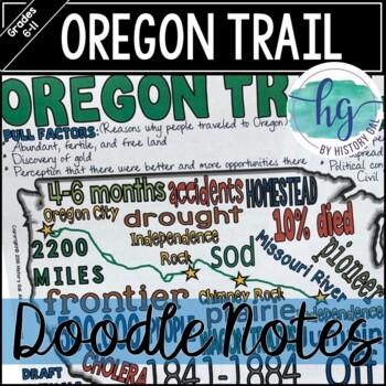 Oregon Trail Doodle Notes