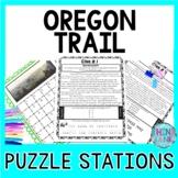 Oregon Trail ESCAPE ROOM Activity - Manifest Destiny and W