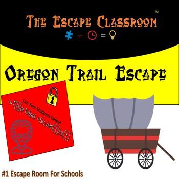 Escape classroom history teaching resources teachers pay teachers oregon trail escape room the escape classroom fandeluxe Gallery