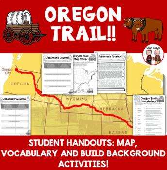 Oregon Trail Activity Free