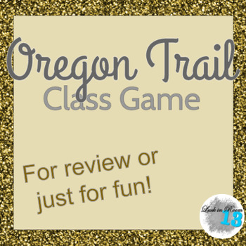 Oregon Trail Game