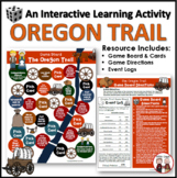 Oregon Trail Game Board Activity