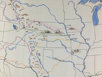 Oregon Trail Interactive Bulletin Board