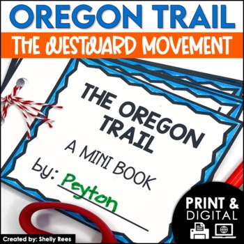 Oregon Trail Interactive Notebook and Mini Unit