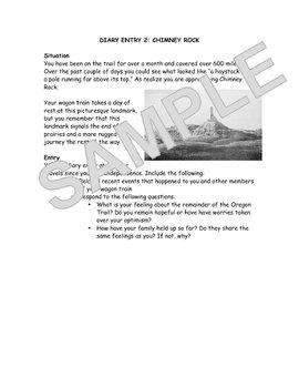 Oregon Trail Journal Entries