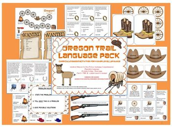 Oregon Trail Language Pack: Westward Expansion