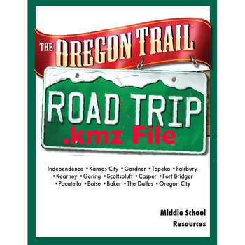 Oregon Trail Road Trip FREE kmz File