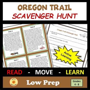 Oregon Trail Scavenger Hunt