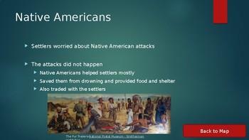 Oregon Trail (Settler Hardships) Interactive PowerPoint
