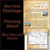 Oregon Trail-Themed Main Idea and Details Passages