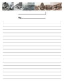 Oregon Trail Themed Writing Template
