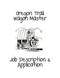 Oregon Trail Wagon Master Job Application Packet
