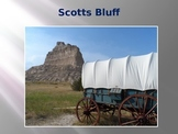 Oregon Trail Western Expansion PowerPoint Series-Scotts Bluff