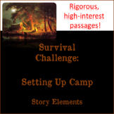 Oregon Trail-themed Passages with Questions - Focus on Sto