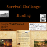 Oregon Trail-themed Poetry and Figurative Language Worksheets