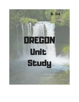 Oregon Unit Study