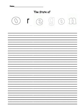 Oregon Writing