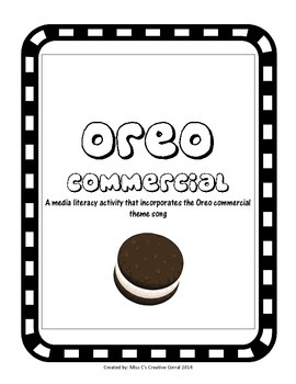 Oreo Commercial - Media Literacy