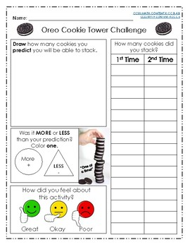 Oreo Cookie Tower Challenge