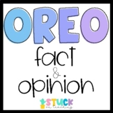 Oreo Fact and Opinion Lesson