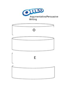 Oreo Introduction to Argumentative Writing