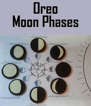 Moon Phases Oreos Activity (Space Science/ Astronomy Unit)