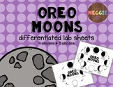 Oreo Moons - Differentiated Phases of the Moon Lab Sheets
