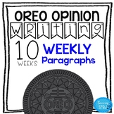 Oreo Opinion Writing- great for both regular and special ed #SPEDPREP3