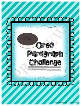 Oreo Paragraph Challenge