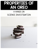 Oreo Science Investigation and Poem