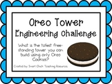 Oreo Tower: Engineering Challenge Project ~ Great STEM Activity!