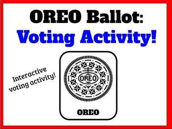 Oreo Voting Ballot