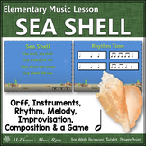 Orff Arrangement Elementary Music Lesson ~ Sea Shell {Half Note}