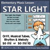 Orff Arrangement & Elementary Music Lesson ~ Star Light, Star Bright