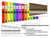 Orff / Boomwhacker Visual Bundle   Distance Learning