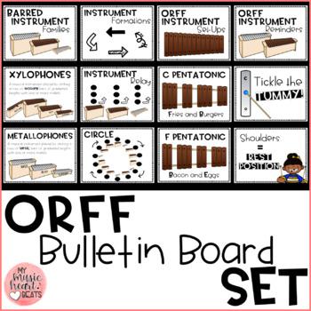 Orff Bulletin Board Set