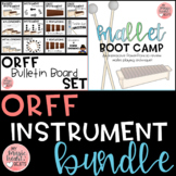 Orff Bundle - Mallet Bootcamp and Bulletin Board Set
