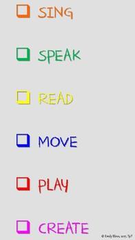 Orff-Inspired Classroom Agenda
