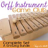 Orff Instrument Game Club, Bundled Set {A Growing Bundle}