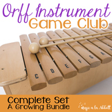 Orff Instrument Game Club, Bundled Set {A Growing Bundle}