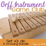 Orff Instrument Game Club, do {A Growing Bundle}