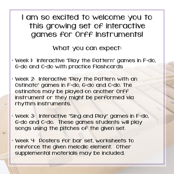 Orff Instrument Game Club, la {A Bundled Set}
