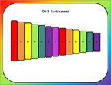 Orff Instrument Play-Along Pages